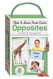 Building Blocks: Slide & Learn Opposites Flash Cards