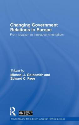 Changing Government Relations in Europe