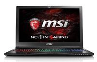 "MSI GS63VR 7RF 15.6"" 4K Gaming Laptop Intel Core i7-7700HQ, 16GB RAM, GTX 1060 6GB"