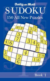 "The ""Daily Mail"" Book of Sudoku: Bk. 1 by ""Daily Mail"" image"