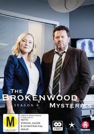 The Brokenwood Mysteries - Series 4 on DVD image