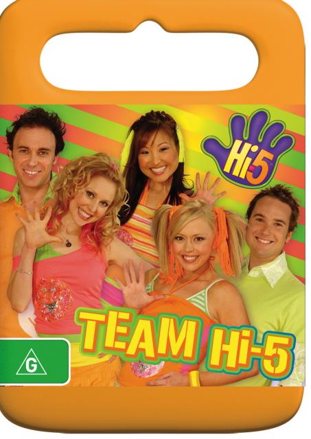 Hi-5 - Team Hi-5 on DVD image