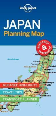 Japan Planning Map by Lonely Planet image
