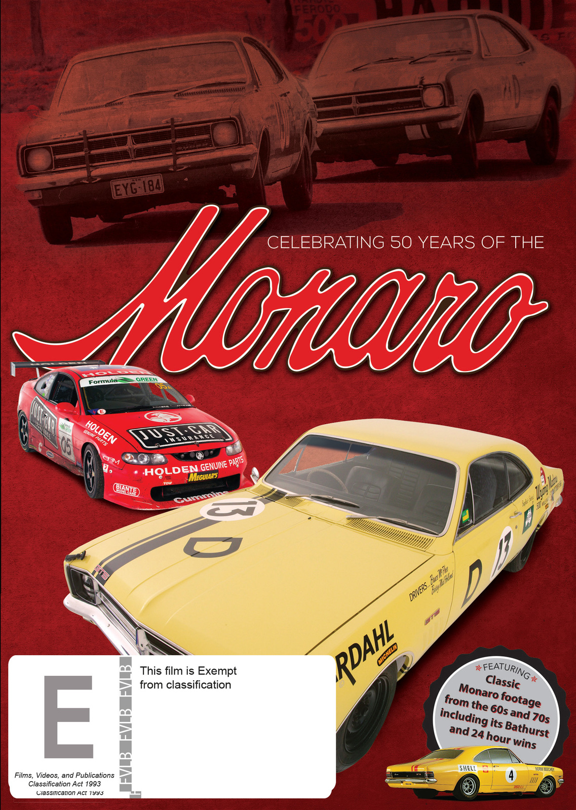 Monaro: Celebrating 50 Years on DVD image