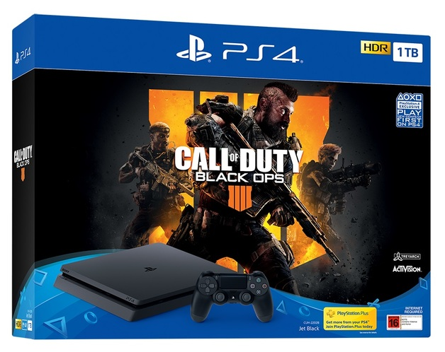 PS4 Slim 1TB Call Of Duty Black Ops IIII Bundle for PS4