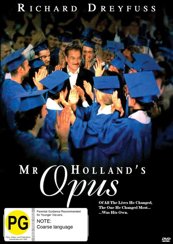 Mr Holland's Opus on DVD