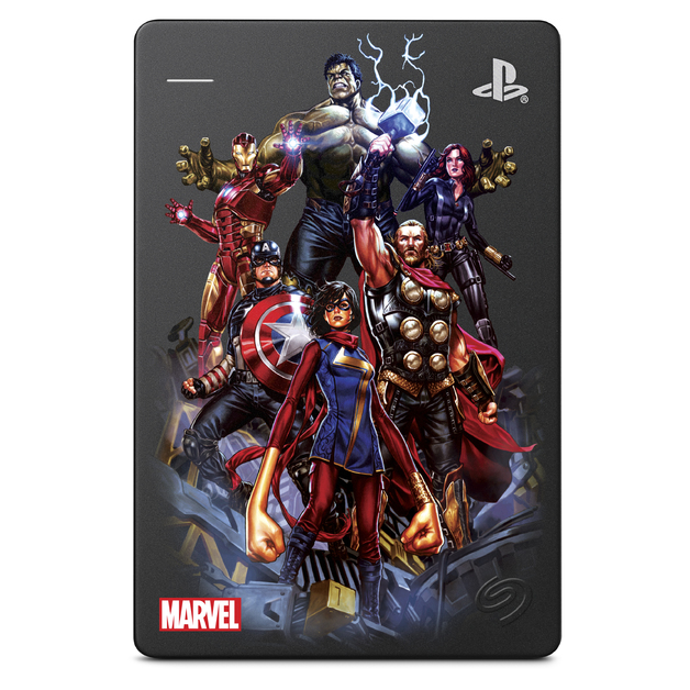 2TB Seagate Marvel's Avengers Game Drive for PlayStation 4 (Avengers Assembled) for