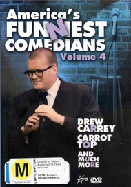 America's Funniest Comedians - Vol. 4 on DVD image
