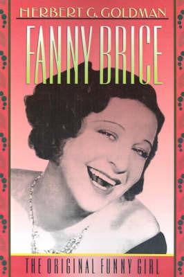 Fanny Brice by Herbert G. Goldman image