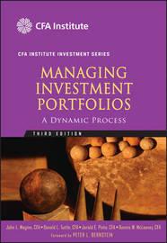 Managing Investment Portfolios, Third Edition image