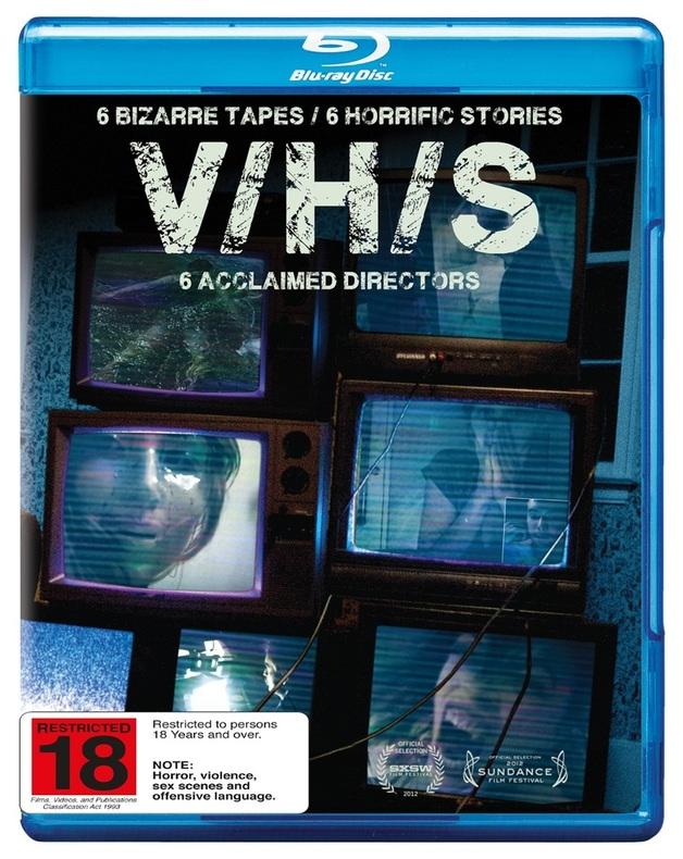 V/H/S on Blu-ray