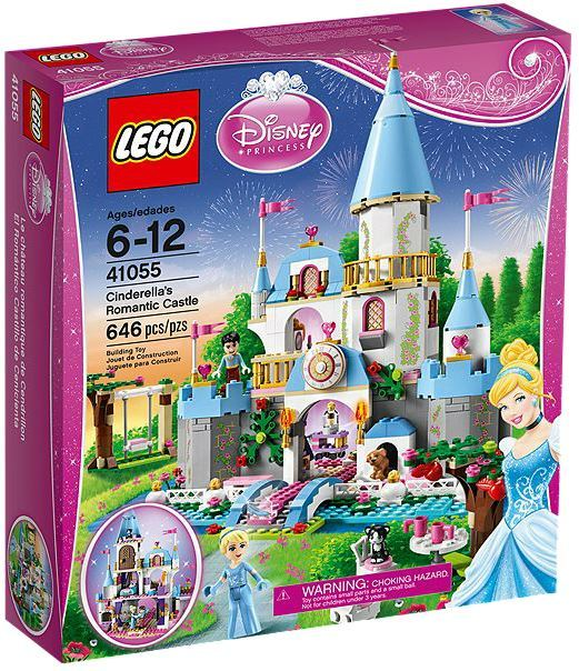 LEGO Disney Princess - Cinderella's Romantic Castle (41055)