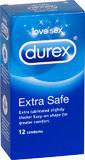 Durex - Extra Safe Condoms (12 Pack)