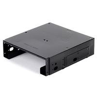 "SilverStone SST-SDP10B Single 5.25"" to 1*3.5"" & 2*2.5"" bay image"