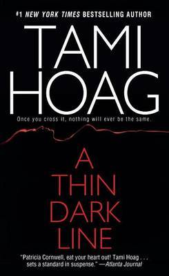 A Thin Dark Line by Tami Hoag image