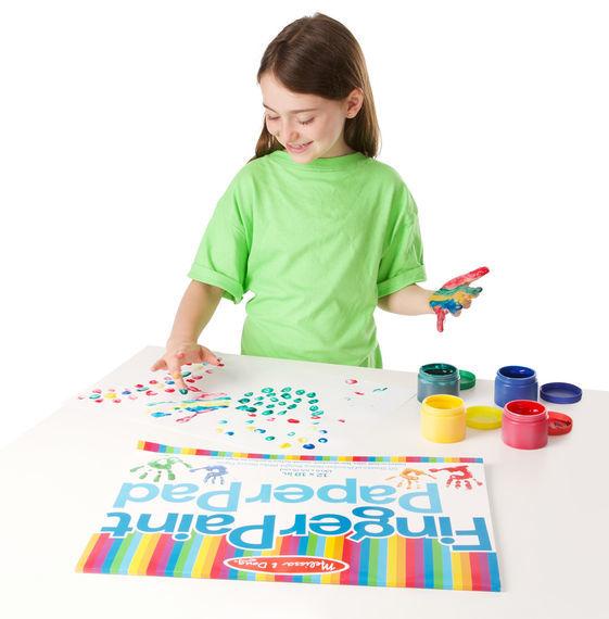 Melissa & Doug: Finger Paint Paper Pad