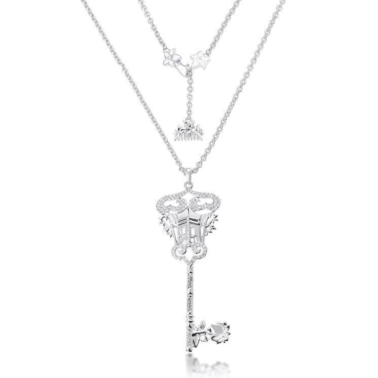 Couture Kingdom: Disney - Princess Mulan Key Necklace (White Gold) image
