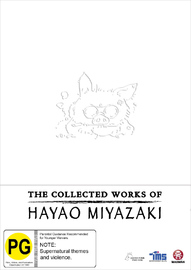 The Collected Works of Hayao Miyazaki Box Set on Blu-ray