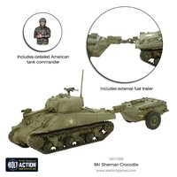 Bolt Action: Sherman Crocodile Flamethrower Tank image