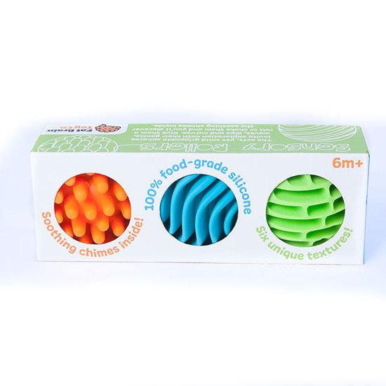 Fat Brain Toys - Sensory Rollers (Set of 3)
