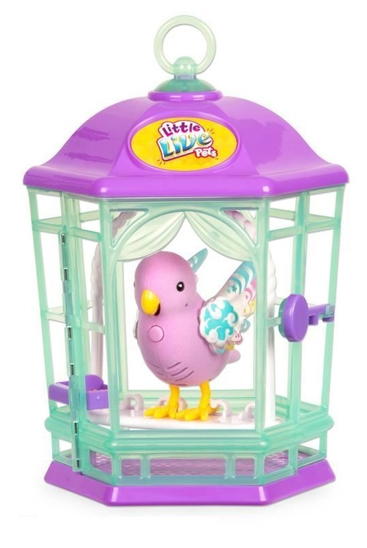 Little Live Pets: Light-Up Bird Cage - Rainbow Glow image