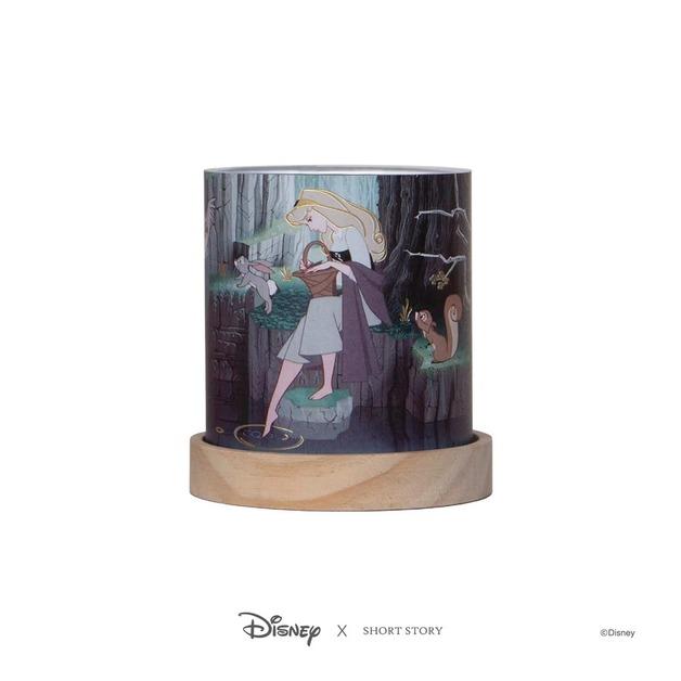 Disney: Mini Glass Lantern - Sleeping Beauty