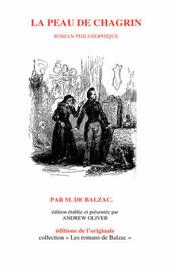 La Peau De Chagrin by Honore de Balzac image