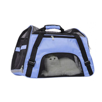 Ape Basics: Single Shoulder Pet Travel Bag Folding Mesh Handbag