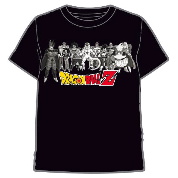 Dragon Ball Z: Characters - Kids T-Shirt (Size: 10)