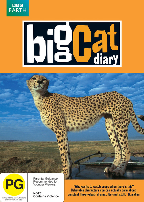 Big Cat Diary on DVD