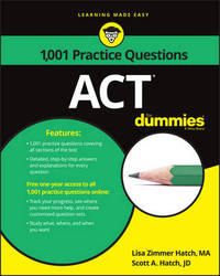 1,001 ACT Practice Problems For Dummies by Lisa Zimmer Hatch