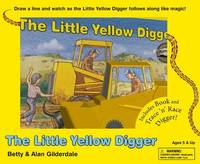 The Little Yellow Digger: Trace 'n' Race Boxed Set (Book + Toy) by Alan Gilderdale