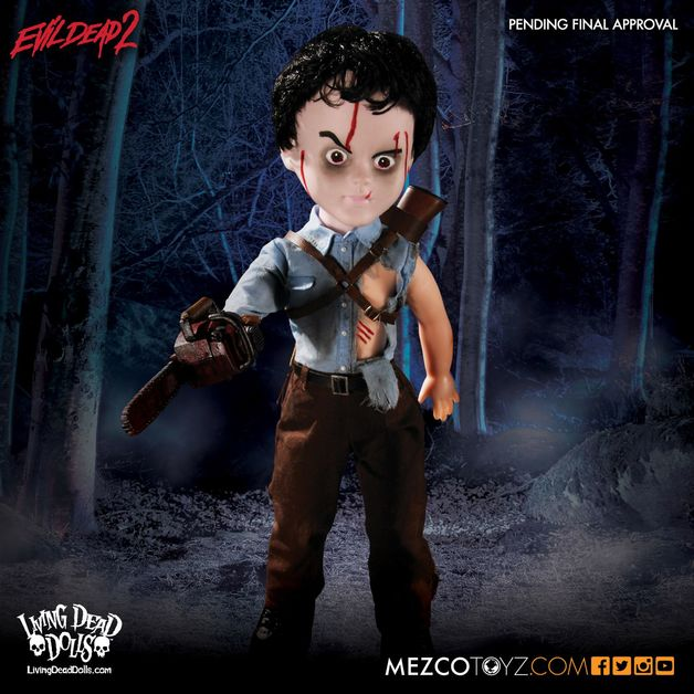 Living Dead Dolls - Ash (Evil Dead 2)