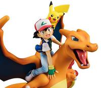 Pokemon: G.E.M. - Satoshi (Ash) & Pikachu & Charizard