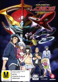 Aquarion Logos - Complete Series on DVD