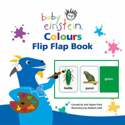 Baby Einstein Colours Flip Flap Book by Julie Aigner-Clark image