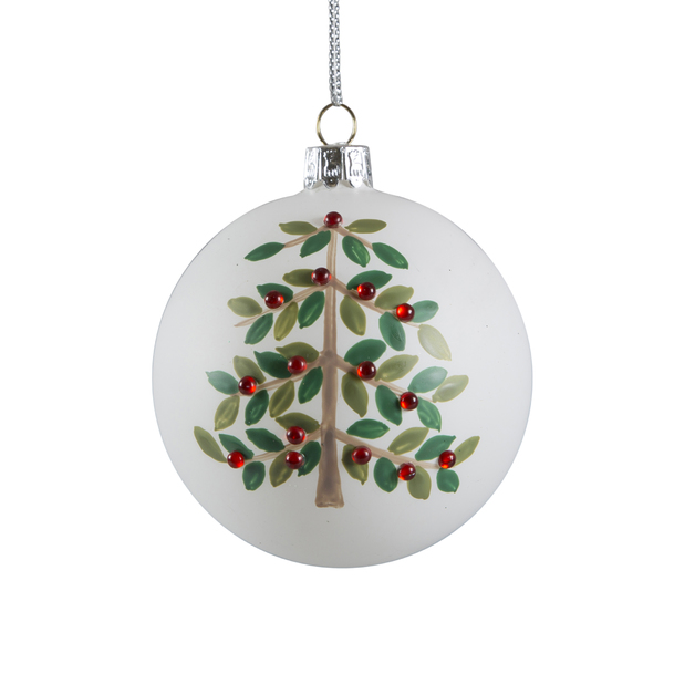 Bejewelled Tree Christmas Bauble