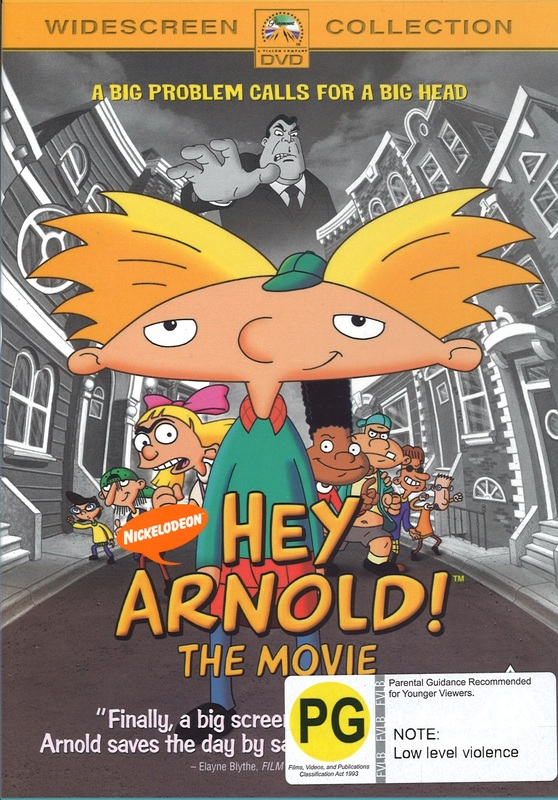 Hey Arnold! The Movie on DVD