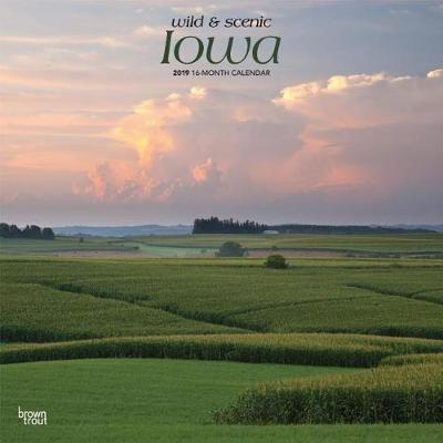 Iowa Wild & Scenic 2019 Square by Inc Browntrout Publishers