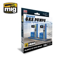 1/35 Scale Gas Station - Scale Model