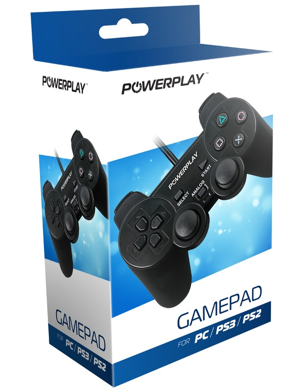 PowerPlay Gamepad (PC, PS2 & PS3) for PC
