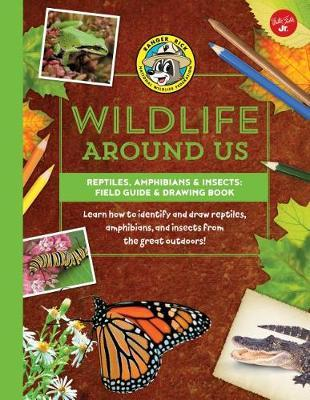 Reptiles, Amphibians & Insects--Field Guide & Drawing Book by Walter Foster Jr Creative Team