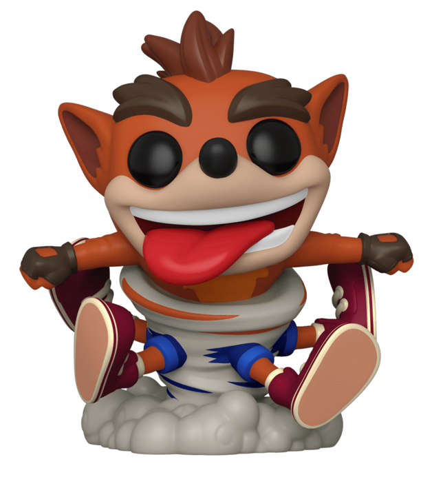 Crash Bandicoot (Spins) - Pop! Vinyl Figure