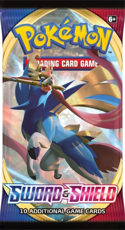 Pokemon TCG: Sword and Shield Single Booster (10 Cards)