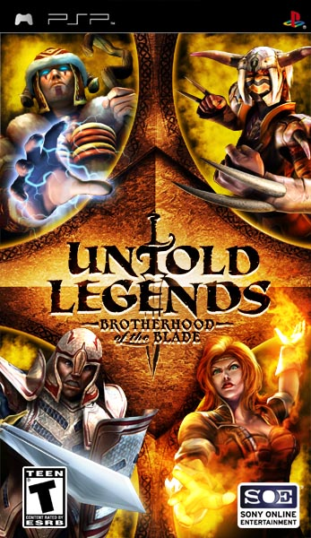 Untold Legends: Brotherhood of the Blade for PSP image