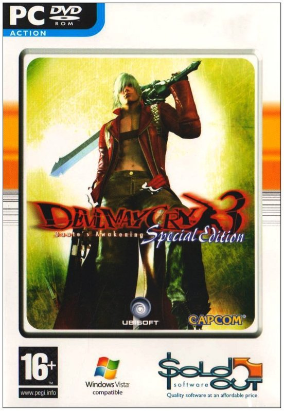 Devil May Cry 3 Dante's Awakening Special Edition for PC Games