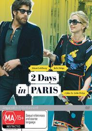 2 Days In Paris on DVD