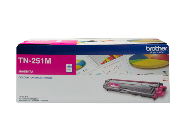 Brother TN-251M Toner (Magenta)