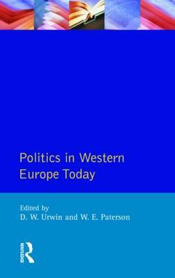Politics in Western Europe Today by William E. Paterson image