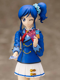 S.H.Figuarts Aikatsu!: Aoi Kiriya (Winter Uniform ver.) - Action Figure